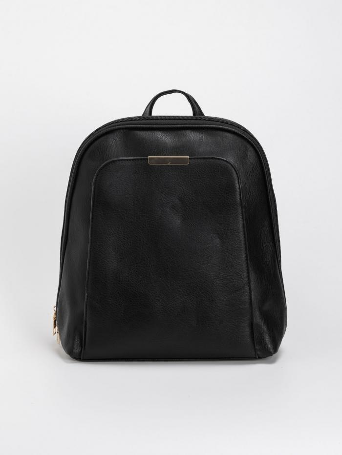 Τσάντα πλάτης με εξωτερική θήκη