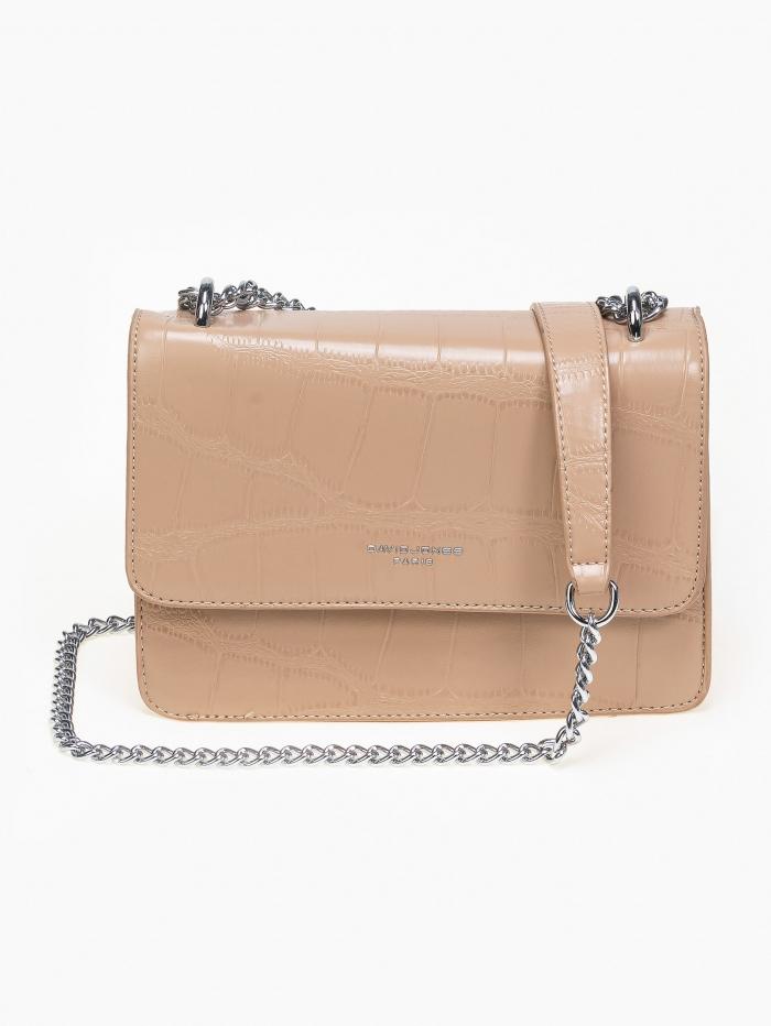 Τσάντα ώμου - χιαστί με αλυσίδα
