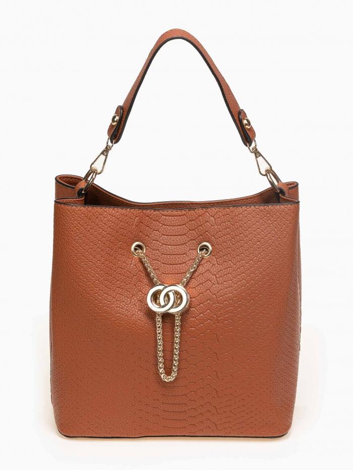 Τσάντα χειρός με αλυσίδα