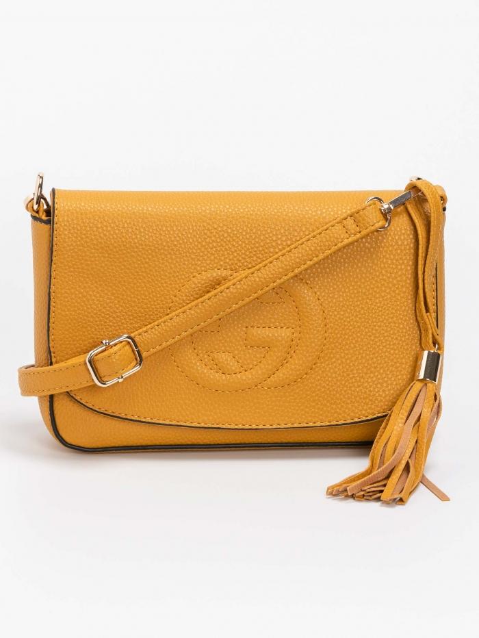 Τσάντα ώμου - χιαστί με λογότυπο