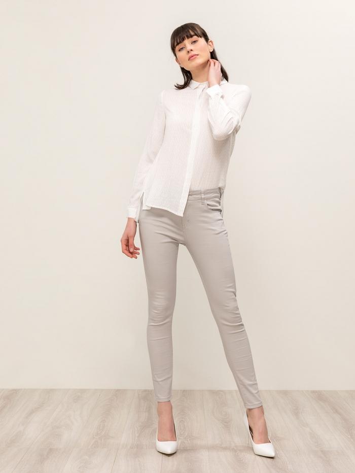Βαμβακερό πουκάμισο με pattern