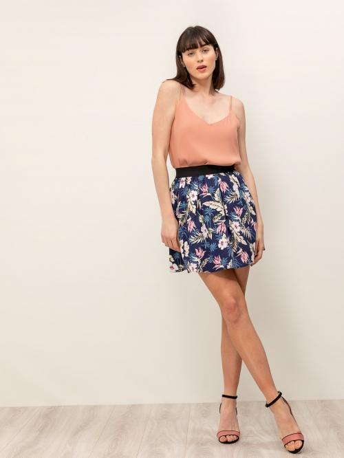 Μίνι φούστα φλοράλ